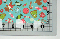 Christmas symbols card step 2