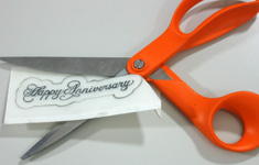 Creative silver 6th year wedding anniversary card making step 9
