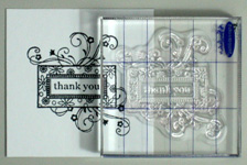 Creative thank you card making instructions step