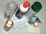 Various glue and adhesives