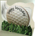 Golf birthday card thumbnail