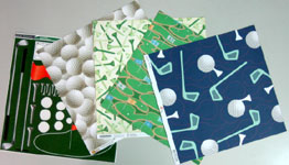 Golf birthday card cardstock of all sorts