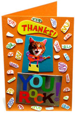 3rd greeting card collage
