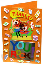 4th greeting card collage