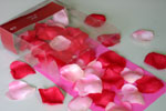 Step 1: making love card from heart shaped petals with no words on the cover