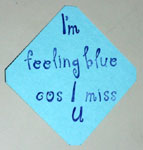 Miss you card steps 4 to 7