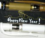Make new year greeting card step 11