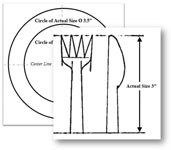 This PDF opens in a new window: template of plate, fork, and knife utensils for picnic invitation card