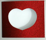 Romantic holiday card step 5
