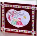 Romantic holiday card thumbnail
