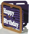 Unique birthday card that looks like a belt - thumbnail