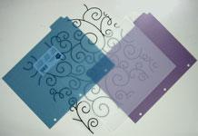 Unique wedding invitation card making supplies