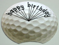 Golf birthday card making tips and tricks 3