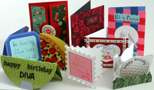 Make a greeting card of your choice
