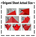 This PDF opens in a new window: template for origami tulip crafting instructions
