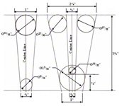 This PDF opens in a new window: template containing i and u letters for Valentines Day card making instructions